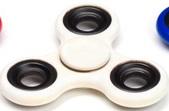 Spinners Relax avslappnande, Vit (Hand spinner,free spinner, fidget)